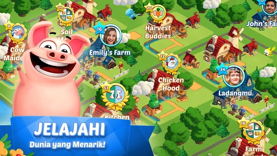 download Country Friends mod apk in Country Friends Mod