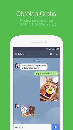 download Line Messenger in Line Messenger