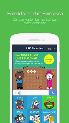 Line Messenger android in Line Messenger