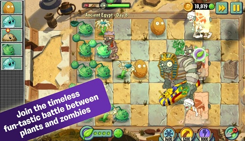 download Plants Vs Zombies 2 in Plants Vs Zombies 2 v4.1.1 Mod APK