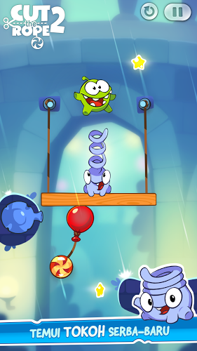 download Cut the Rope 2 mod apk in Cut the Rope 2 Mod APK