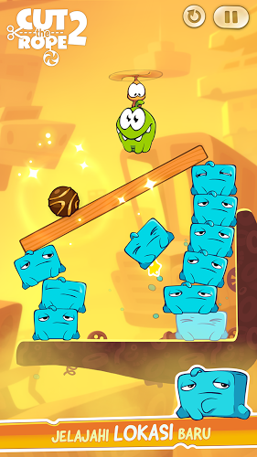 download Cut the Rope 2 mod in Cut the Rope 2 Mod APK