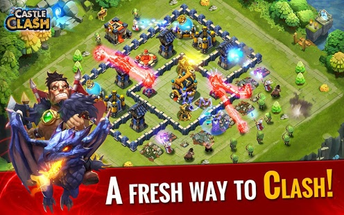 download Castle Clash android in Clash of Clans 7.156.10 Mod APK