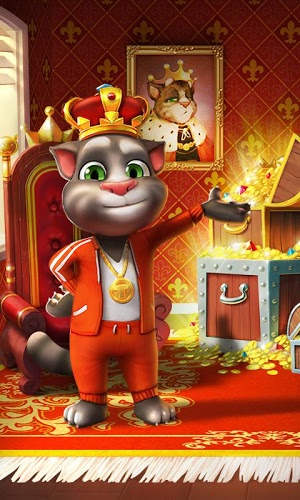 Download game My Talking Tom android in My Talking Tom 2.6.3 APK