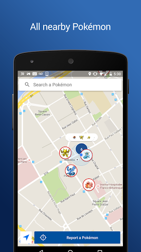 download PokeRadar apk gratis in PokeRadar for Pokemon GO Mod